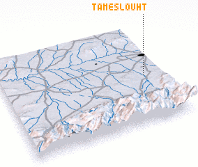 3d view of Tameslouht