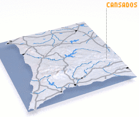 3d view of Cansados