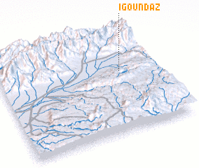 3d view of Igoundaz