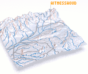 3d view of Aït Messaoud