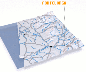 3d view of Fonte Longa