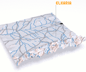 3d view of El Karia