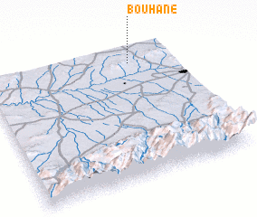 3d view of Bouhane