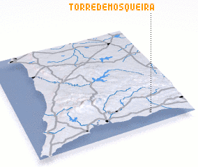3d view of Torre de Mosqueira