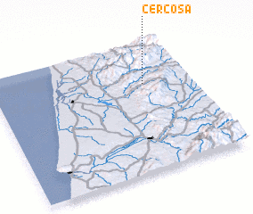 3d view of Cercosa