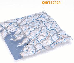 3d view of Cortegada