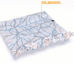 3d view of Oulad Oguil
