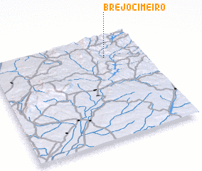 3d view of Brejo Cimeiro
