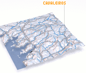3d view of Cavaleiros