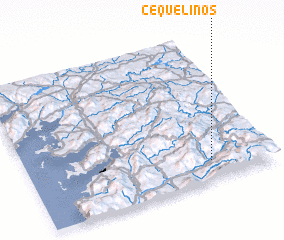 3d view of Cequelinos