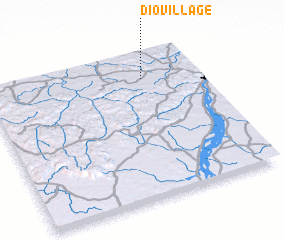 3d view of Dio-Village