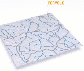 3d view of Fényélé