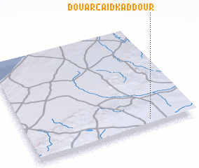 3d view of Douar Caïd Kaddour