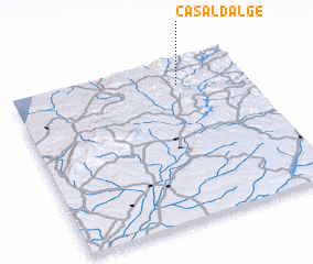 3d view of Casal d'Alge