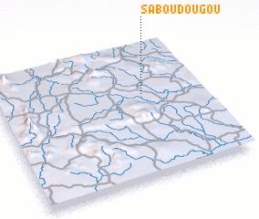 Saboudougou Guinea map nonanet