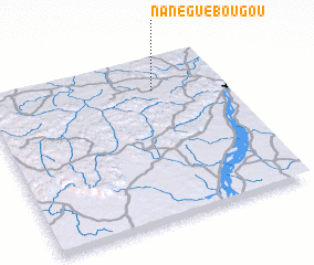 3d view of Nanéguébougou