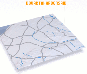 3d view of Douar Tahar Ben Saïd