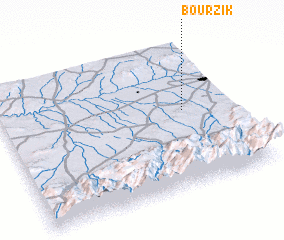 3d view of Bourzik