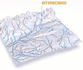 3d view of Aït Ouachâou