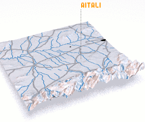 3d view of Aït Ali