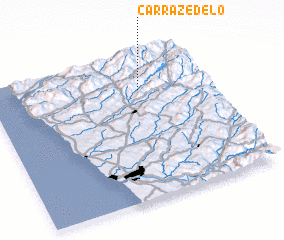 3d view of Carrazedelo
