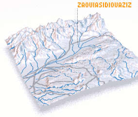 3d view of Zaouia Sidi Ouâziz