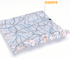 3d view of Isgoufa
