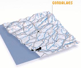 3d view of Gondalães