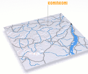3d view of Kominkomi