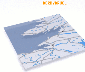 3d view of Derrydruel