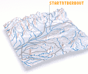 3d view of Start n'Tberbout