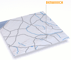 3d view of Ben Aouich