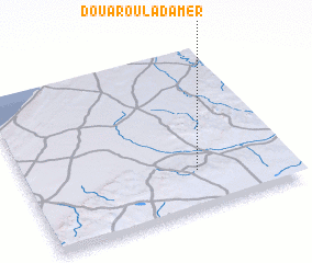3d view of Douar Oulad Amer