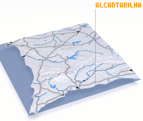 3d view of Alcantarilha