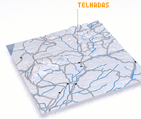 3d view of Telhadas
