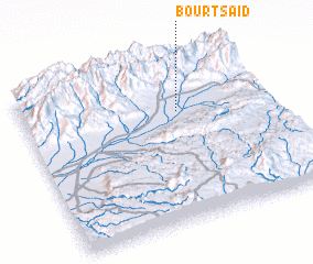 3d view of Bourt Saïd