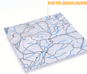 3d view of Portela de Vila Verde