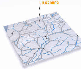 3d view of Vila Pouca