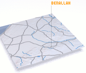 3d view of Ben Allah