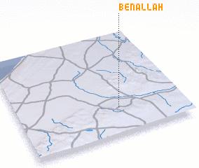 3d view of Ben Allah