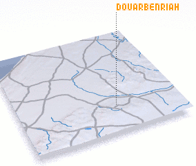 3d view of Douar Ben Riah