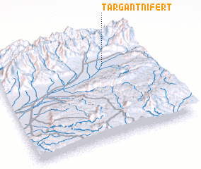 3d view of Targant n'Ifert