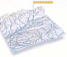 3d view of Bou Idourane