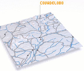 3d view of Cova de Lobo
