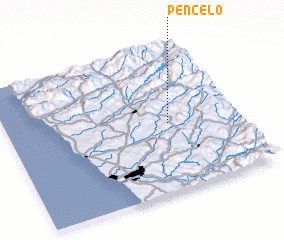 3d view of Pencelo