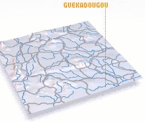 3d view of Guékadougou
