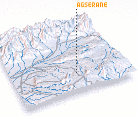 3d view of Agserane