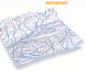 3d view of Maguenoun