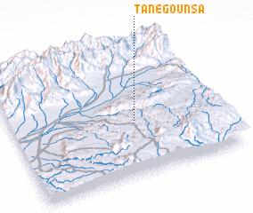 3d view of Tanegounsa