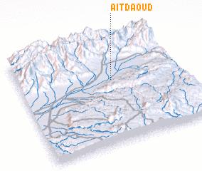 3d view of Aït Daoud